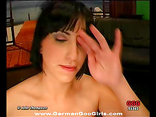 Gina rides on a lengthy cock then swallows cum from the very same tool