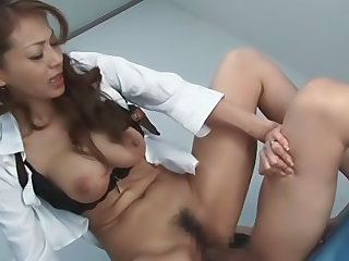 Kinky ass chick Sanae Asou female domination right here