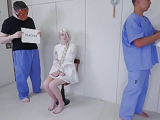 Entranced by giant cock and trained to be an anal fuck doll