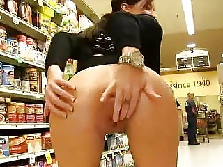 Risky flash in the store