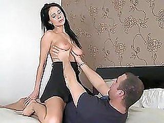 Lonely milf gets a company of a hungry dude