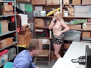Carmen Callaway drops on her knees for a fellow's boner