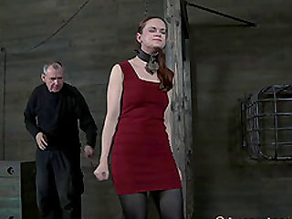 Hazel Hypnotic pussy ravished doggystyle in BDSM Scene