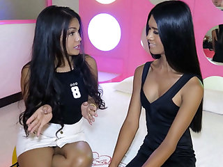 Ladyboy Amy Interviews Her Friend