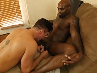 Beau Reed Enjoys Blowing Long Black Schlong