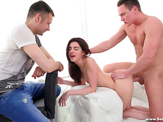 Sell Your GF - Lindsey Vood - Watching gf take big cock