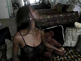 Black butt Monique yelling while her anal gets blasted hardcore