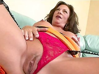 Margo Sullivan is a horny cougar ready for a fat boner
