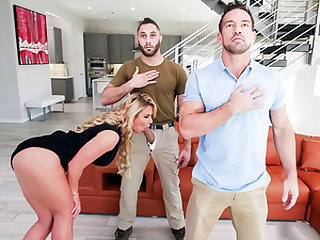 Family Strokes – Army Boy Meets Busty Stepmom