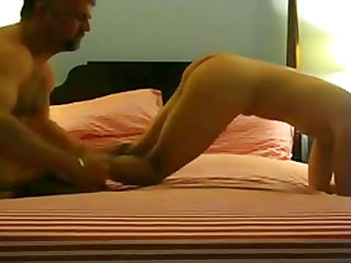 Daddy rimming, fucking raw and breeding  stud.