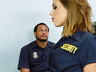 Adriana Chechik is a hot policewoman plowed by a nasty fellow