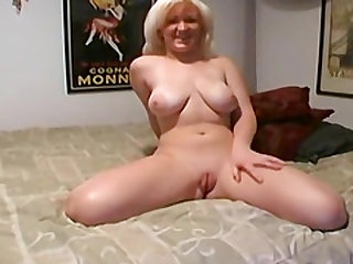 Busty blonde wife titty fucks her hubby in a homemade sex video