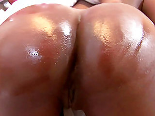 Janae Jolie is a horny black girl that has one impressive ass.