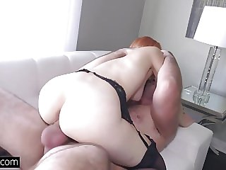 Amarna Miller quivers hard on top