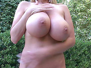 Kelly Madison loves showing off her formidable curves