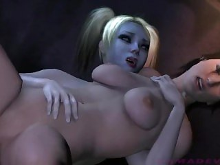 Futa recopilation of Harley Quinn