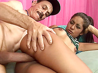 Stepdad gets to fuck Ruby B. in couple of different positions
