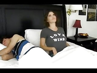 HORNY STEPMOM WANTS HER 18YO STEPSON