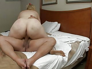 Swiney's Pro-Am scene 114 BBW Lila Lovely Hotel Room facial