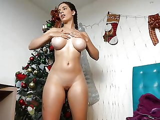 fake-breasted columbian cam-slut