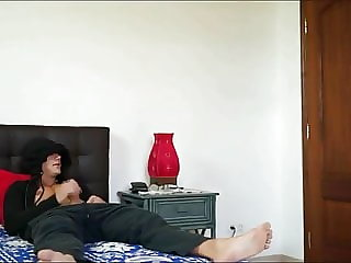 Sister Catches Her Step Brother Jerking and Helps Him