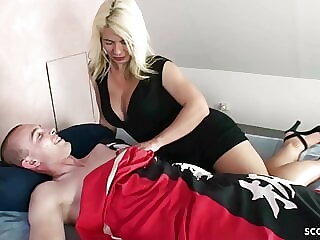 GERMAN STEP MOM fuck with BIG DICK SON and love it