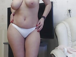 beautiful mommy in white panties 2