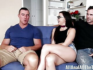 Whitney Wright gets ass fucked by older guy in front of BF A
