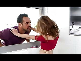 Innocent poor stepdaugther medium punish sex from cage