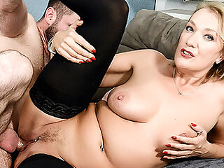HITZEFREI Dirty German MILF fucked by a younger man