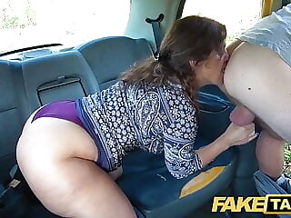 Fake Taxi Big sexy Spanish ass bounces as tight pussy fucked