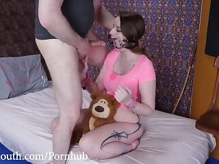 Fuck my Face, Punish my Teddy Bear (Brutal Throat Fucking with Jessica Kay)