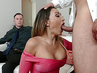 Cuck Watches Wife Claudia Valentine Fuck