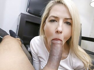 PervMom - Sexy Blond Milf Gets Her Hot Pussy Fucked and Fingered