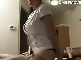 Fucking hot milf from hotel service
