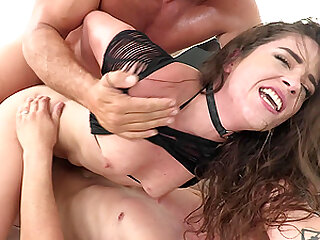 double penetration with two guys is the only thing that Victoria Voxxx needs