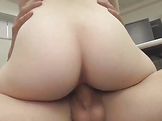 Hardcore fucking cute asian coworker in office time p9