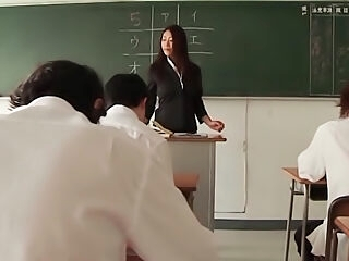 Hot and horny Reiko Kobayakawa Japanese female teacher sex
