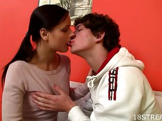 Hardcore Scene With The Dick Craving Brunette Miloslava