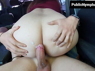 My Perfect Ass Spanish Teacher Giving Some Private Lessons On My Car