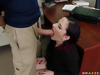 Big Dick Fuck In The Office For The Horny MILF Caroline Pierce