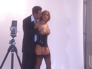 Photo Session Turns Into Hardcore Sex With The Hot Blonde Model