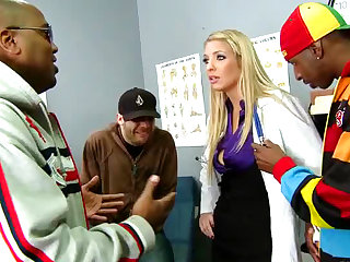 This Horny MILF Doctor Wants a Black Cock For Payment