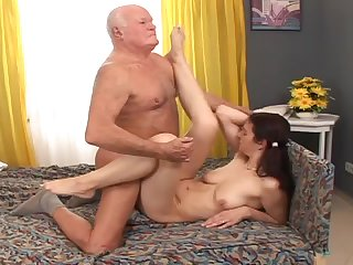 Girls get fucked hard and get their pussies filled with cum