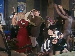 Hot scenes from historical porn movie L'Uccello Del Piacere